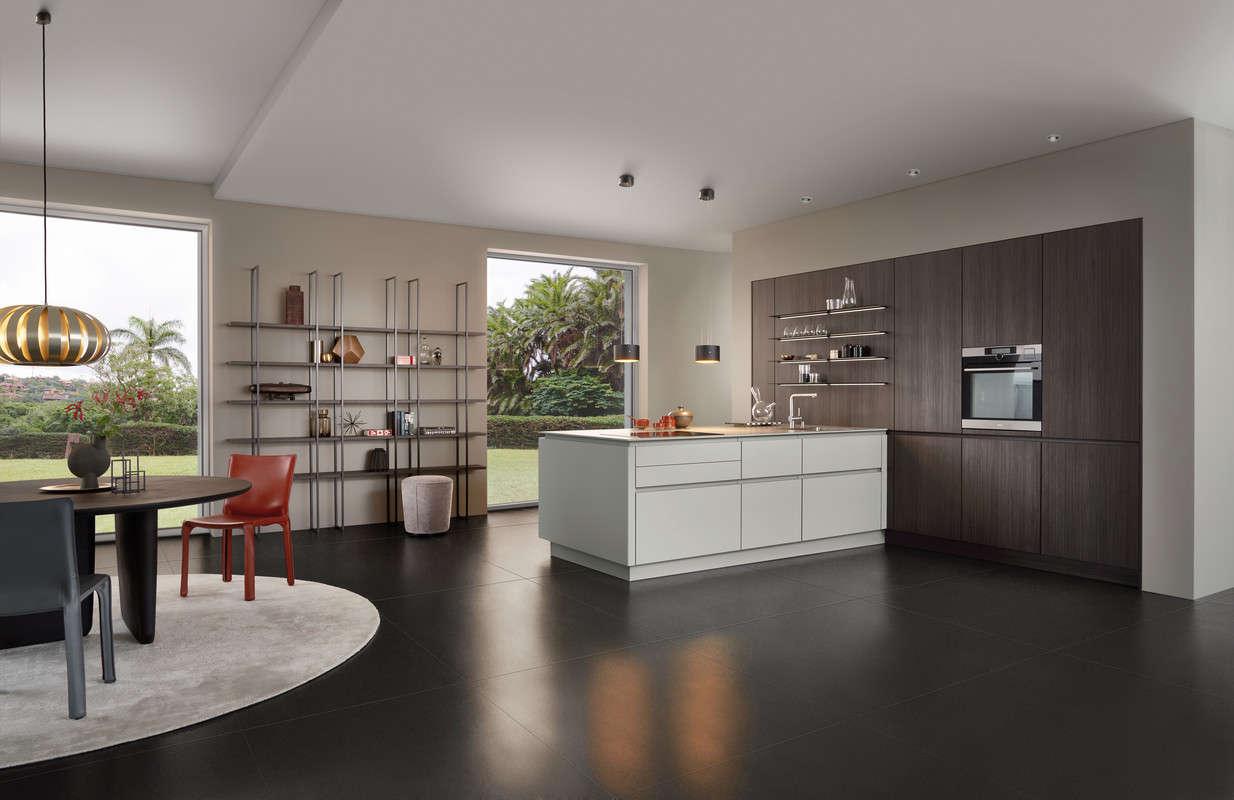 Elegante design keuken vol contrast