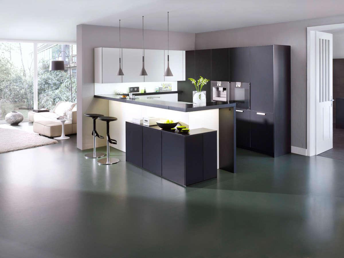 Design keuken vol sierlijk contrast