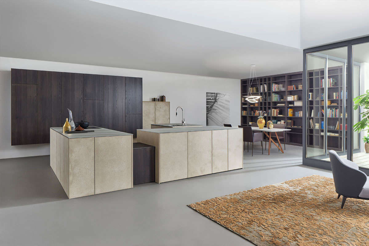 Smoky, zandstenen design keuken