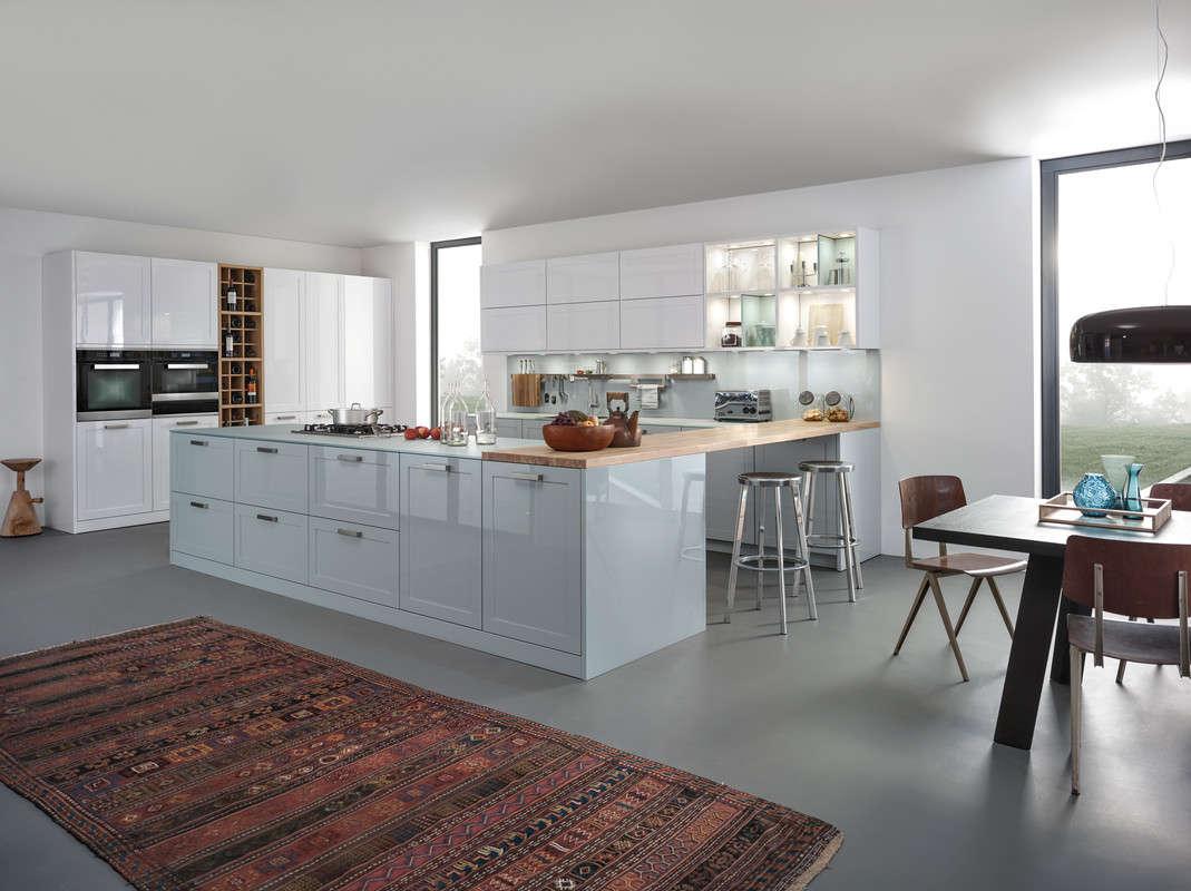 Levendige design keuken