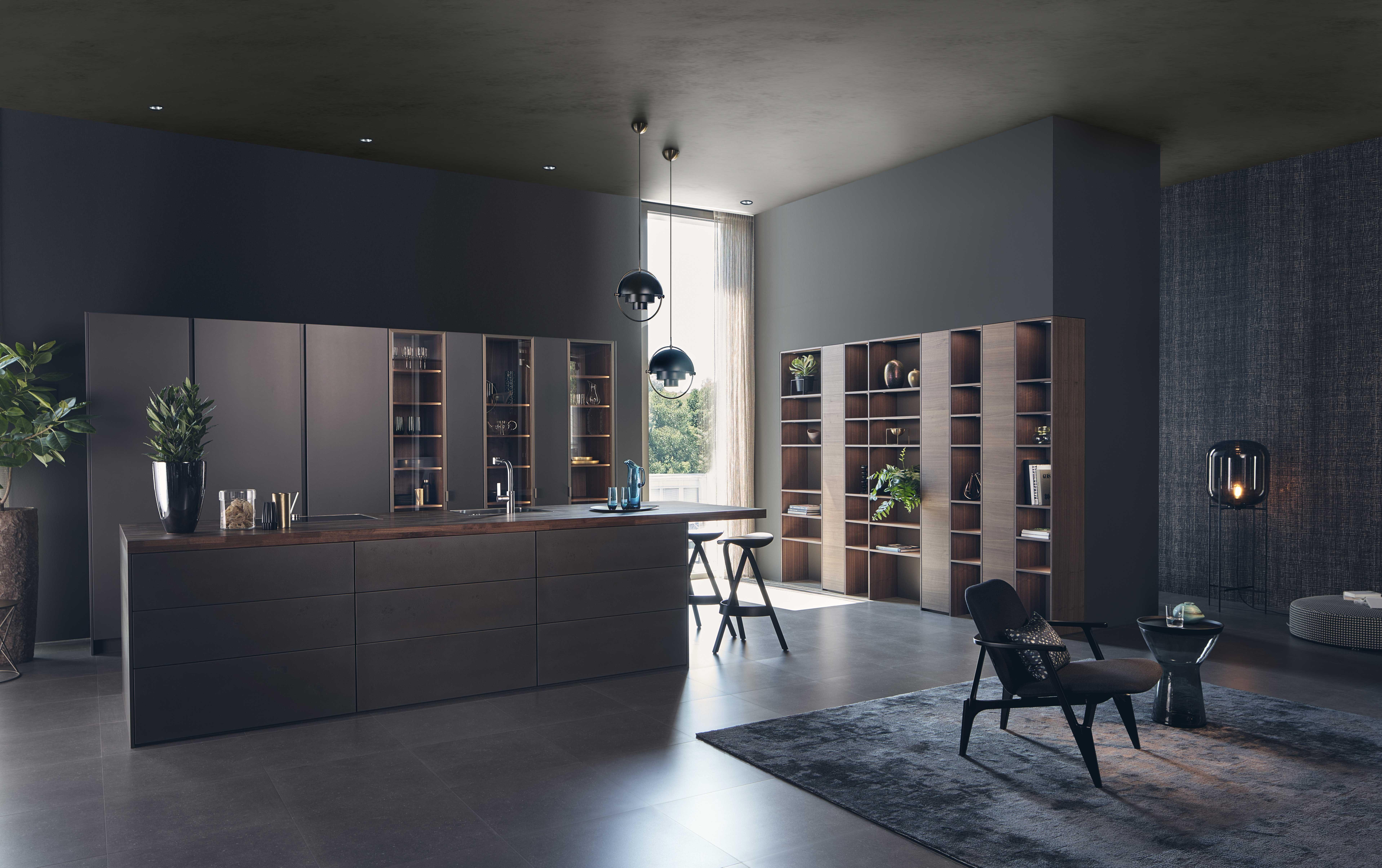 Stalen design keuken