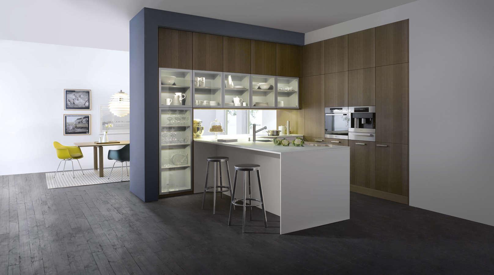 Design keuken vol opbergruimte