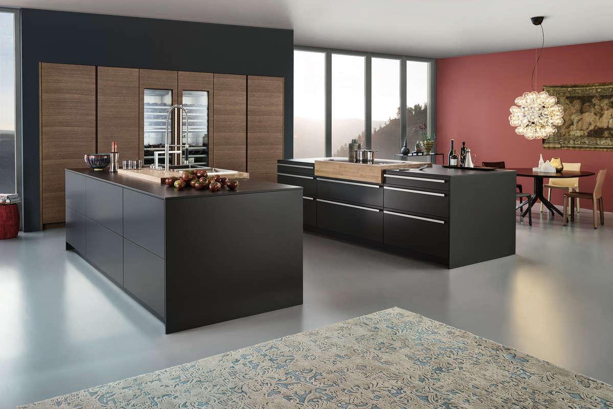 Matte design keuken
