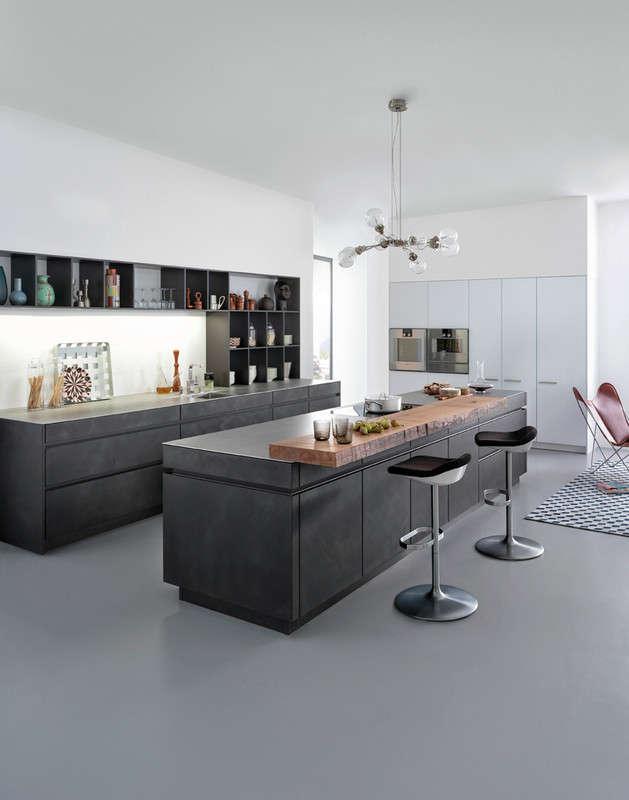 Betonnen design keuken
