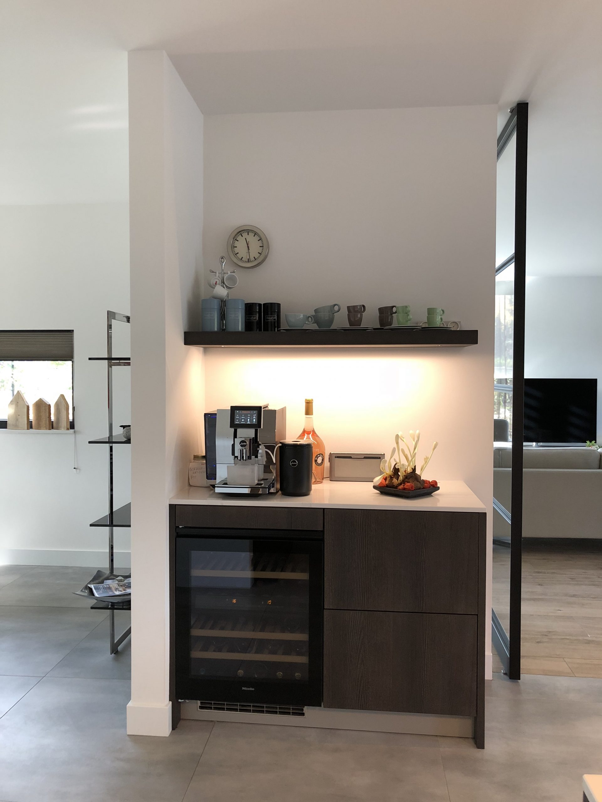 koffiecorner designkeuken