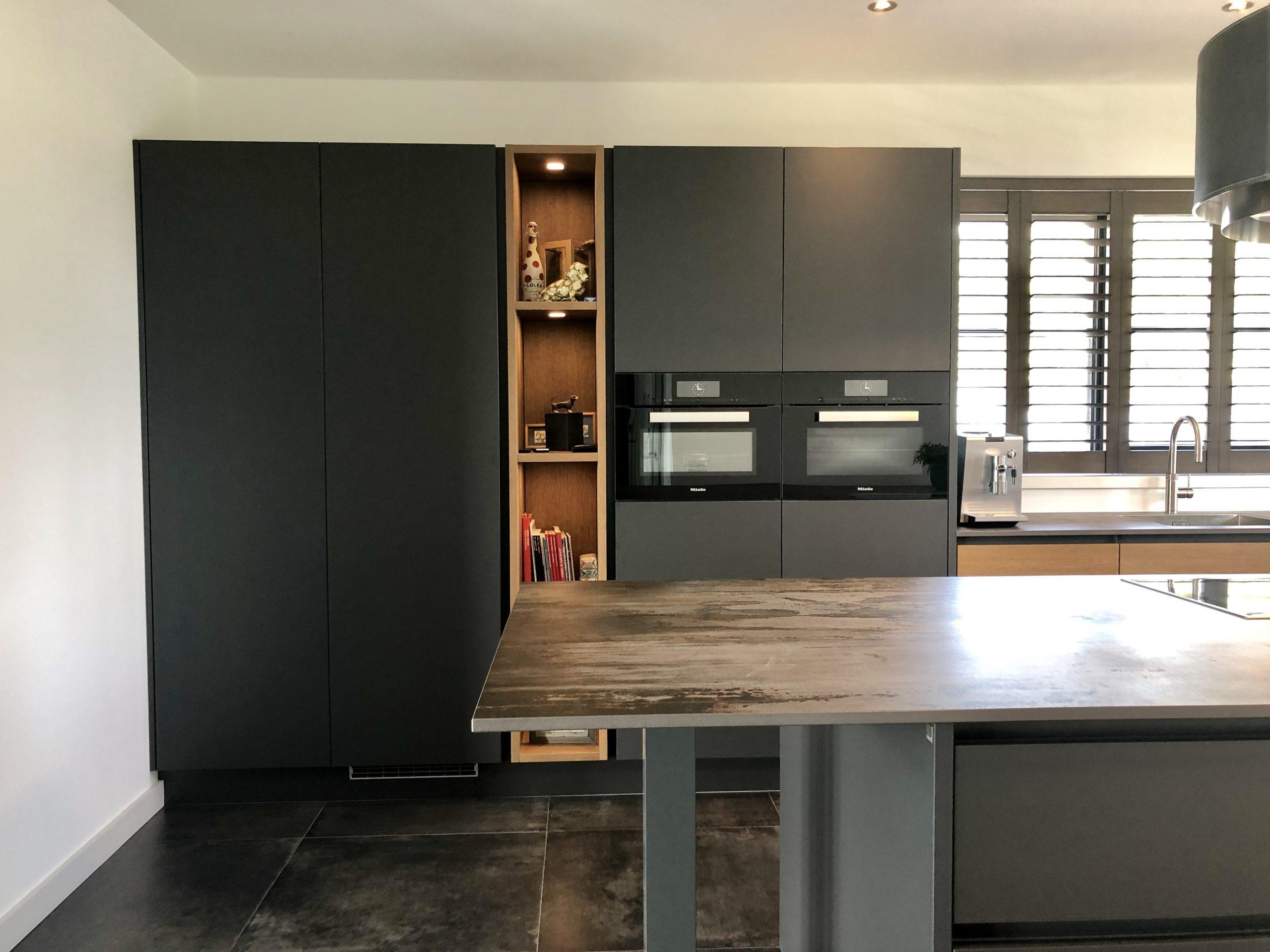 luxe kastenwand keuken wildhagen